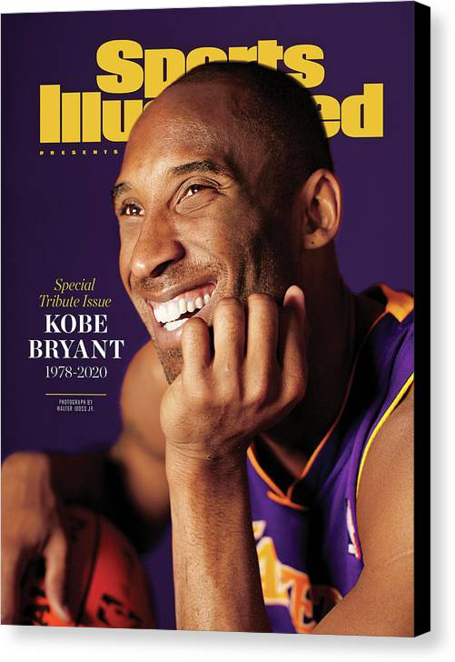 Event Canvas Print featuring the photograph Kobe Bryant 1978 - 2020 Special Tribute Issue Sports Illustrated Cover by Sports Illustrated