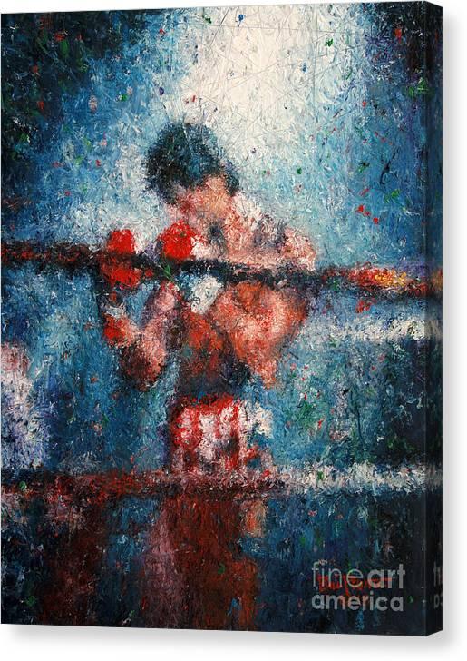 Rocky 3 - Alone in the Ring by Bill Pruitt