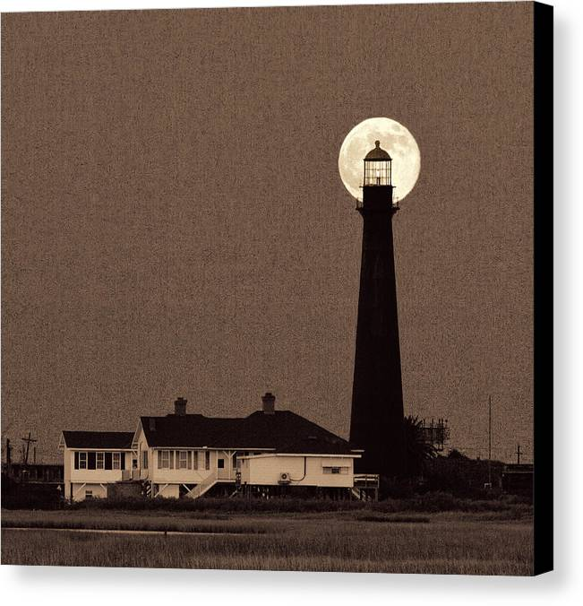 Fine Art Canvas Print featuring the photograph Light The Way by Trudy LeDoux