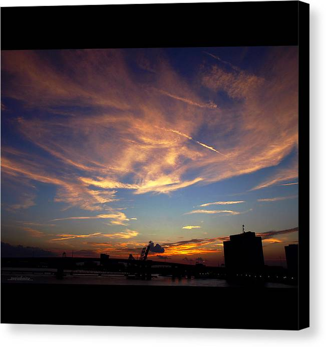 Sunset Canvas Print featuring the photograph Pure Life by Avery Bristol