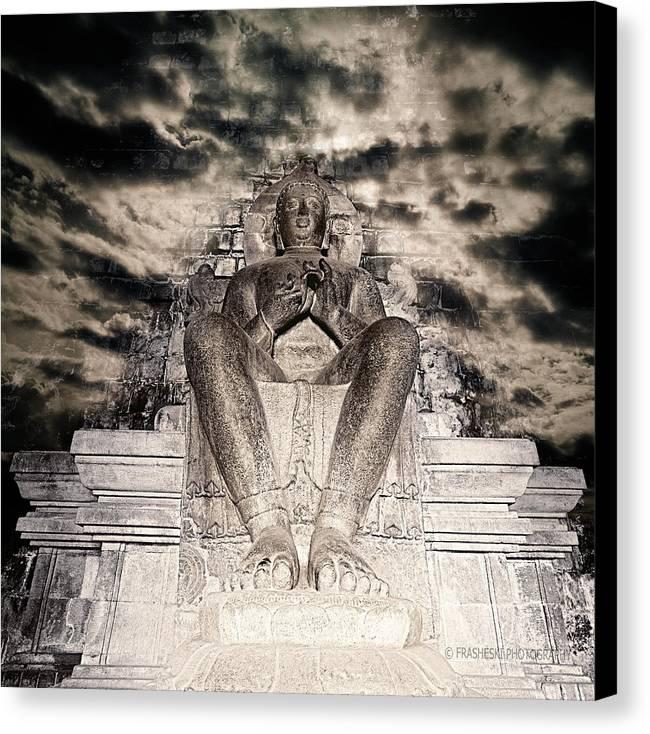 Buddah Canvas Print featuring the photograph Big Buddah by Andy Frasheski