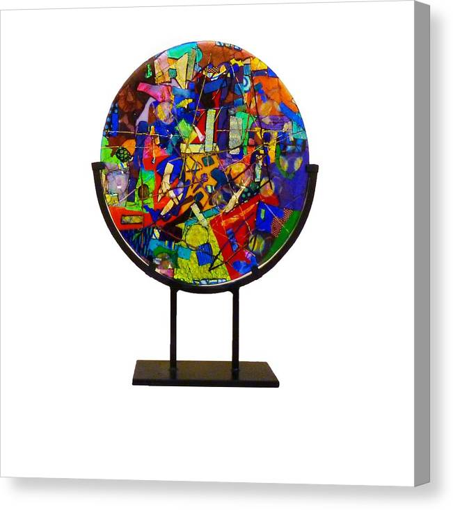 Carnival Canvas Print featuring the sculpture A Night At The Carnival by Mark Lubich