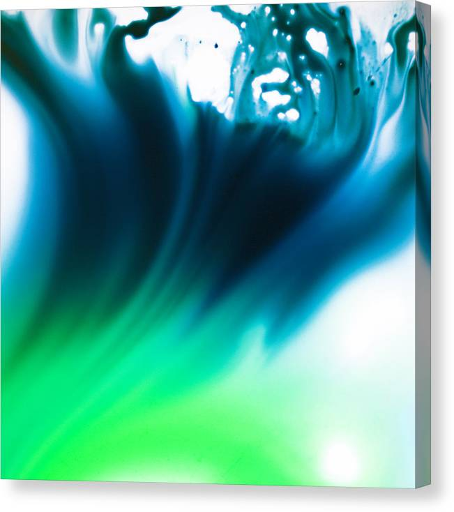 Abstract Canvas Print featuring the photograph Tidal by Ryan Heffron