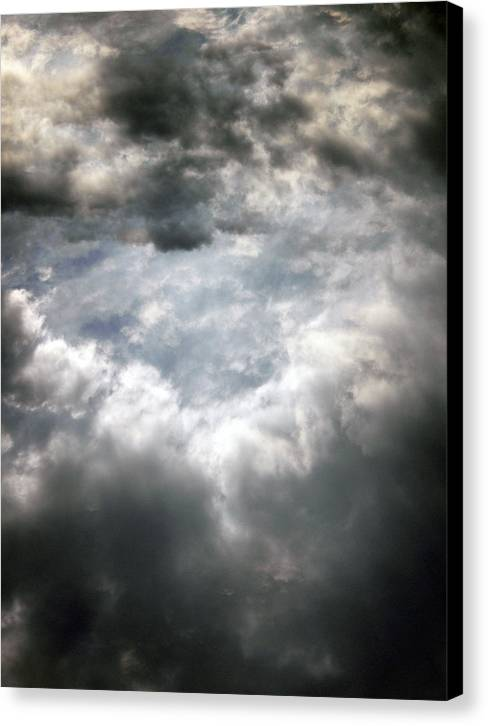 Sky Canvas Print featuring the photograph Sky1 by Mikael Gambitt
