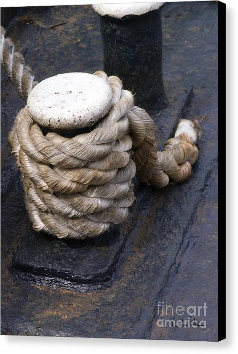 Rope Canvas Print featuring the photograph Tight Rope by Carlos Alvim
