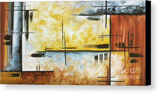 Abstract Painting Chocolate Brown Golden Yellow And Gray Art Colors ...