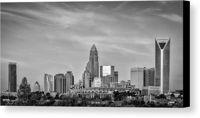 Charlotte Canvas Print featuring the photograph Charlotte Chrome by Brian Young