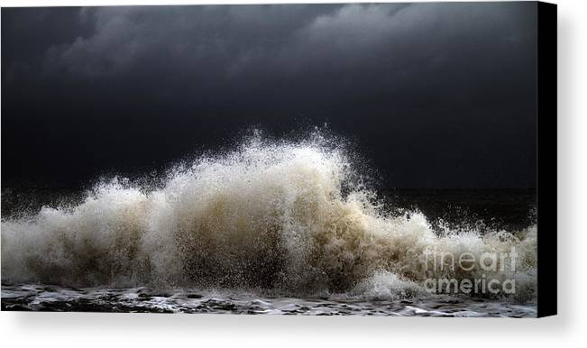 Abstract Canvas Print featuring the photograph My Brighter Side Of Darkness by Stelios Kleanthous