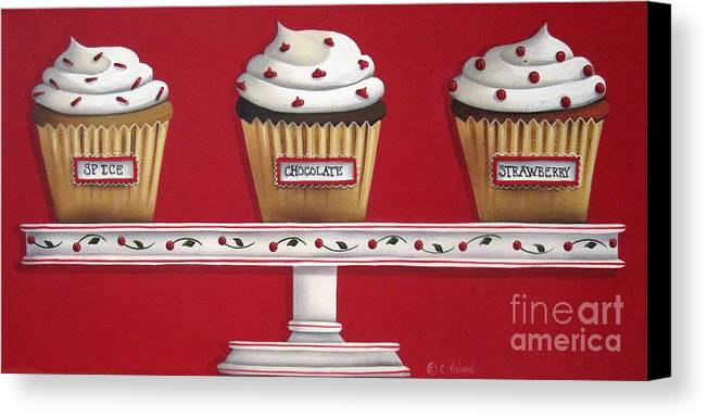 Art Canvas Print featuring the painting Sweet Delights by Catherine Holman