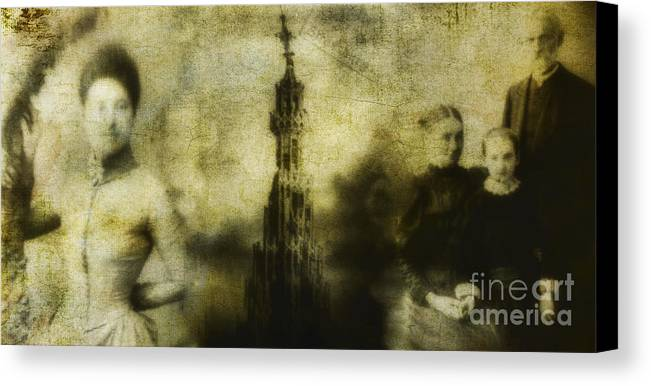People Canvas Print featuring the photograph Missing by Andrew Paranavitana