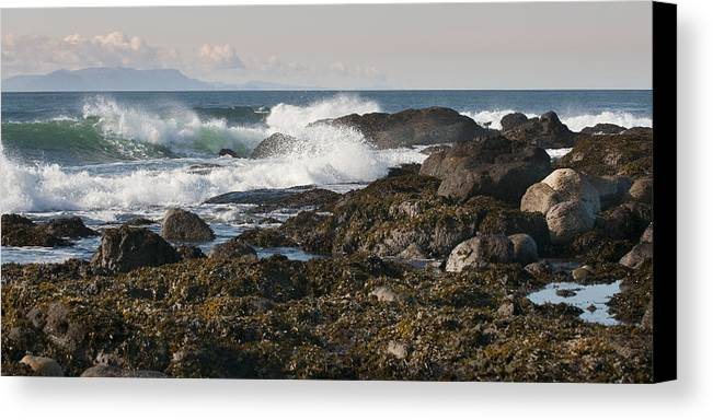 Waves Canvas Print featuring the photograph Creating Waves by Chad Davis