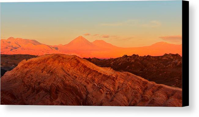 Atacama Canvas Print featuring the photograph Valle De La Luna - San Pedro De Atacama by Andre Distel