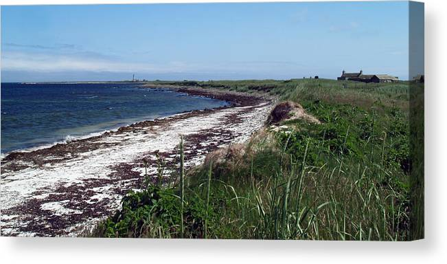 Bay Canvas Print featuring the photograph Scuthvie Bay And Start Point by Steve Watson