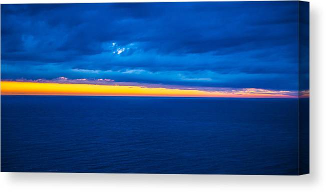 Spain Canvas Print featuring the photograph Spanish Sea by Jacquelyn Crady