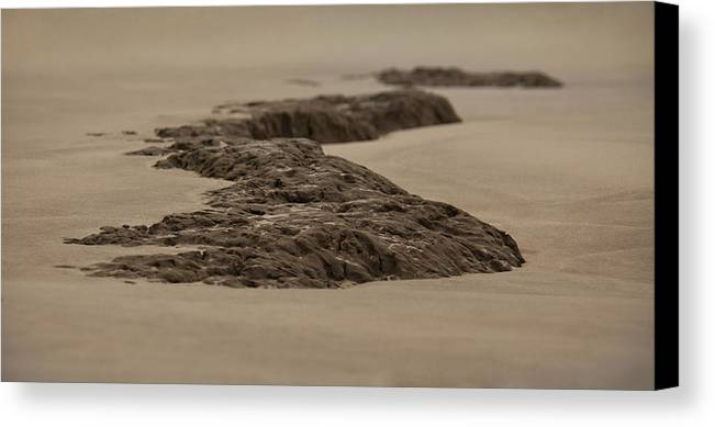 Landscape Canvas Print featuring the photograph Stoned by Mario Celzner
