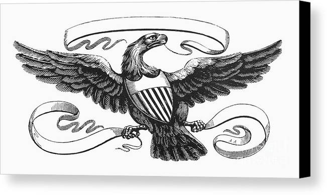 Symbols American Eagle Canvas Print Canvas Art By Granger