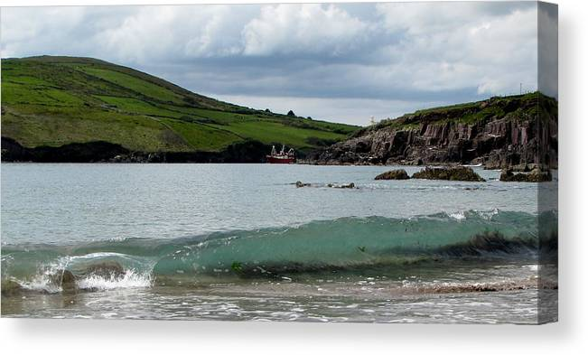 Dingle Canvas Print featuring the photograph Dingle Bay by Barbara Walsh