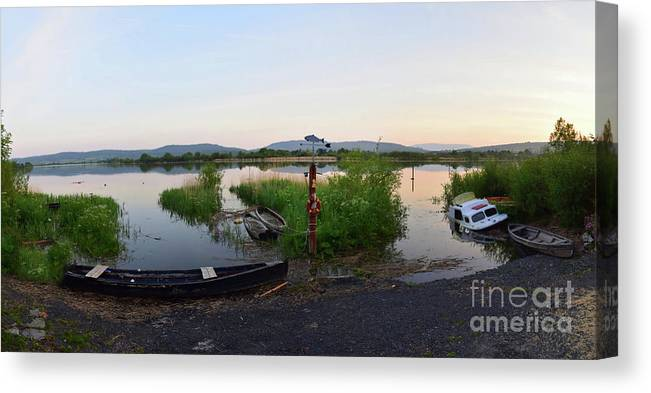 River Canvas Print featuring the photograph The River Suir by Joe Cashin