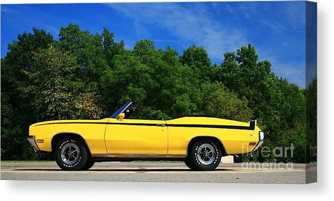 Car Canvas Print featuring the photograph Buick Gsx by Robert Pearson