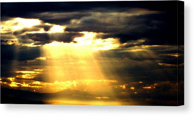 Inspirational Canvas Print featuring the photograph Faith by James Harper