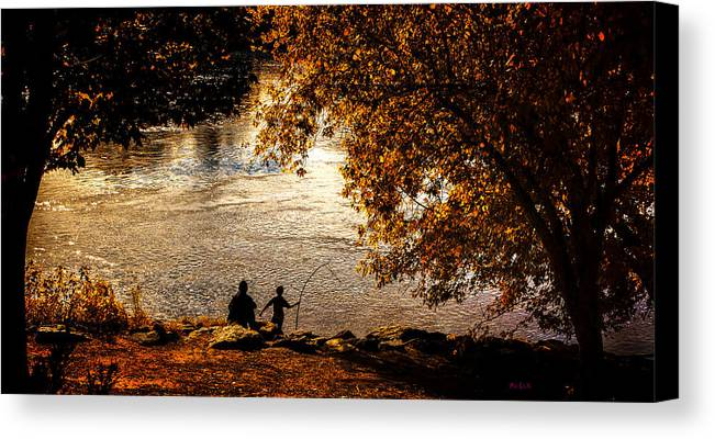 Fall Canvas Print featuring the photograph Moments To Remember by Bob Orsillo