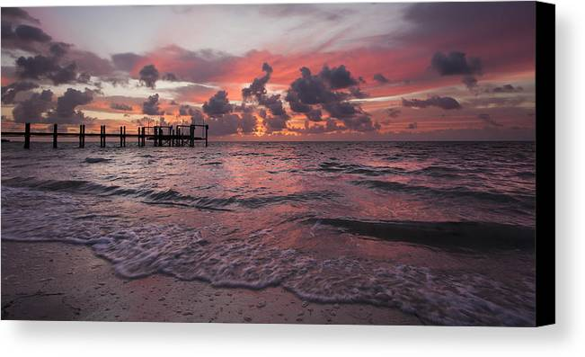 3scape Photos Canvas Print featuring the photograph Sunrise Panoramic by Adam Romanowicz