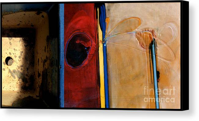 Marlene Burns Canvas Print featuring the painting p HOTography 52 by Marlene Burns