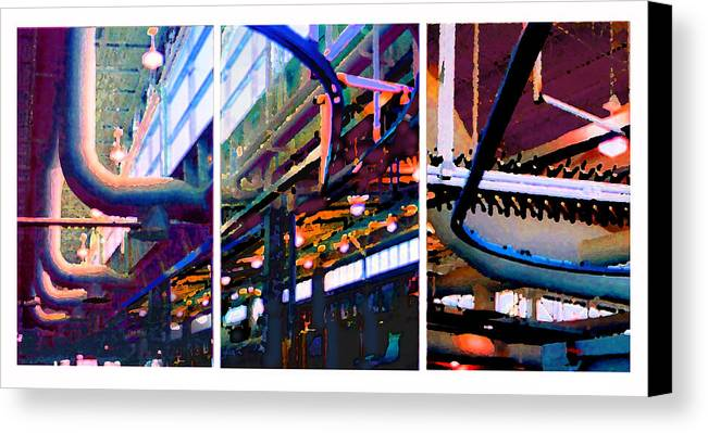 Abstract Canvas Print featuring the photograph Star Factory by Steve Karol
