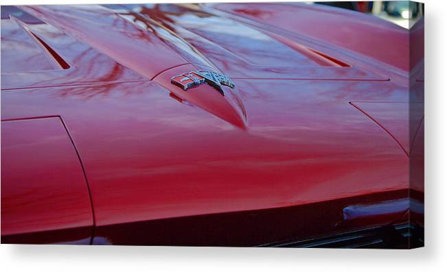 Stingray Canvas Print featuring the photograph Classic by Joe Fernandez