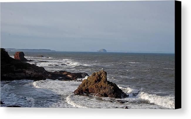 Rocks Canvas Print featuring the photograph Rocks by John Bailey