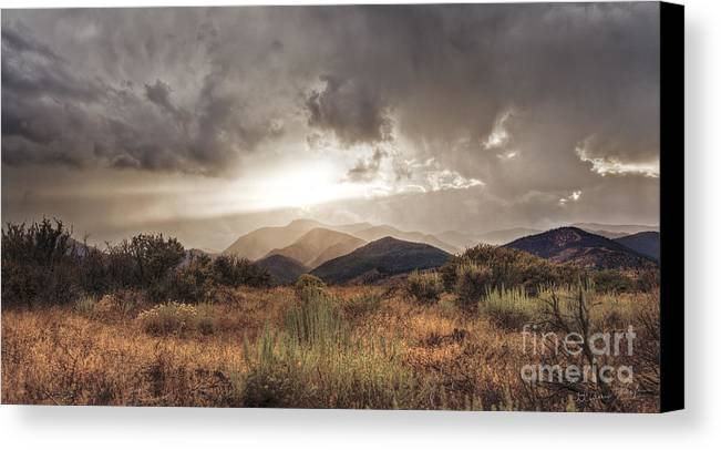 Clouds Canvas Print featuring the photograph Storm Clouds by Dianne Phelps