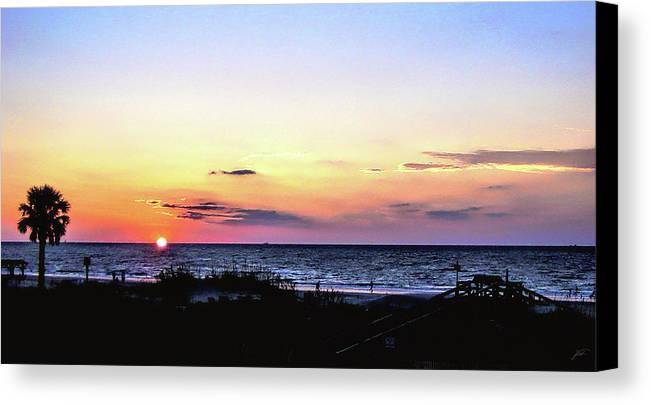 Tybee Canvas Print featuring the photograph East Coast Sunrise by Thomas Fields