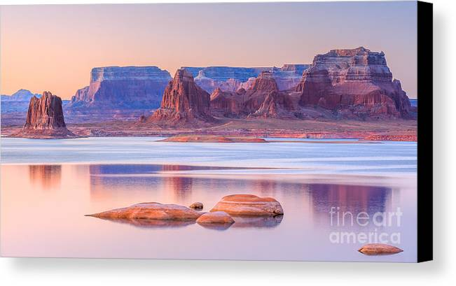 padre bay from cookie jar butte canvas print canvas art by henk