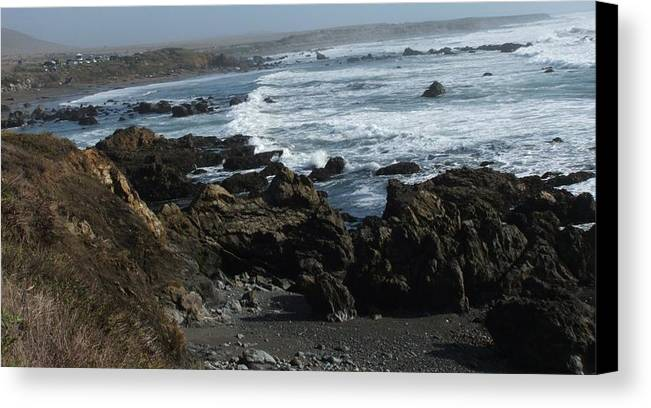 Landscape Canvas Print featuring the photograph Precarious by Shari Chavira