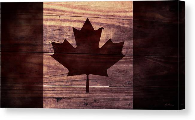 Canadian Flag I Canvas Print Canvas Art By April Moen