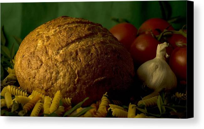Food Canvas Print featuring the photograph Ingredients by Jessica Wakefield