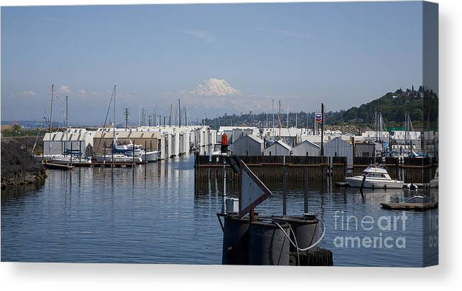 Water Canvas Print featuring the photograph The Bay by Robert Talbot