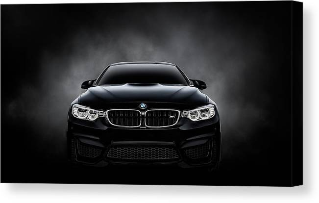 Bmw Canvas Print featuring the digital art Ultimatum by Douglas Pittman
