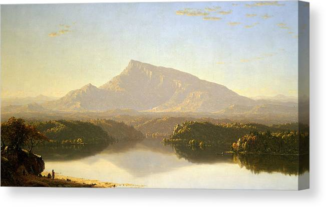 Sanford Robinson Gifford Canvas Print featuring the painting Wilderness 4 by Sanford Robinson Gifford