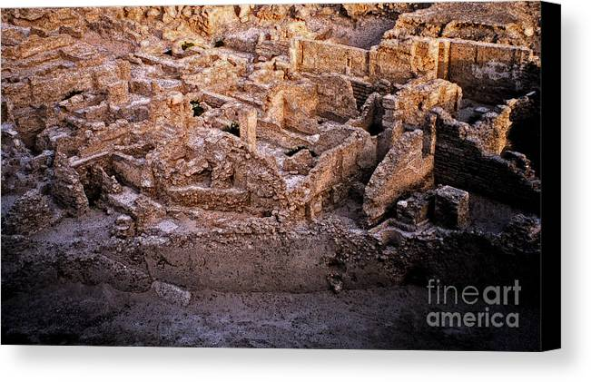 First Star Art Canvas Print featuring the photograph Seven Civilizations by First Star Art