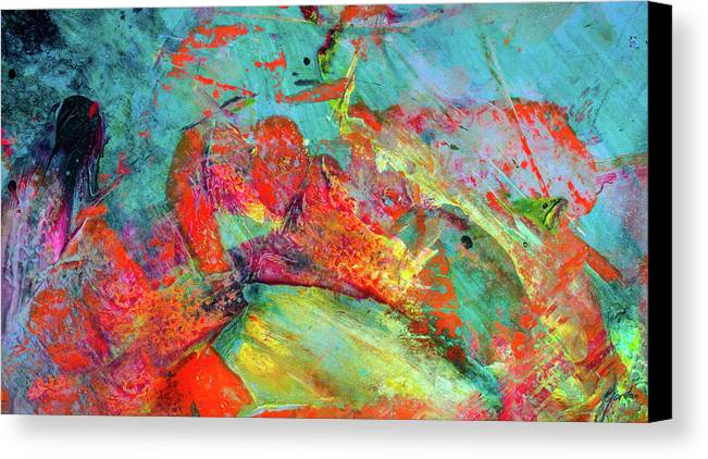after every storm the sun will smile colorful abstract art