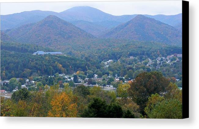 Fall Canvas Print featuring the photograph Buena Vista In The Fall by Eddie Armstrong