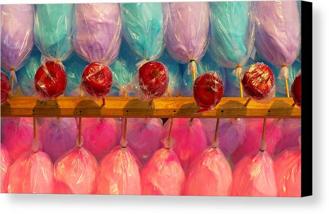 Skip Hunt Canvas Print featuring the photograph I Want Candy by Skip Hunt