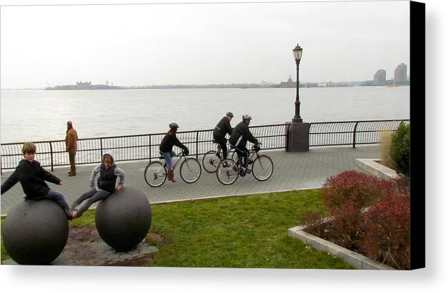 Ny Canvas Print featuring the photograph After Hurricane Sandy by Randi Shenkman