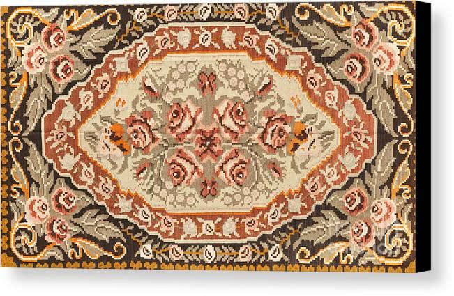 Carpet Canvas Print featuring the photograph Turkish Carpet by Emirali KOKAL