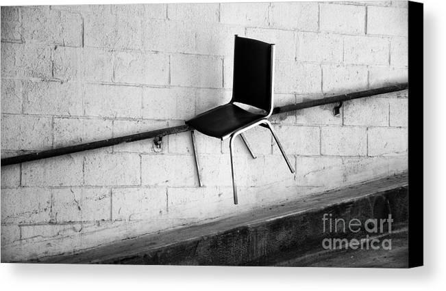 Urban Canvas Print featuring the photograph Chair by Mark Thomas