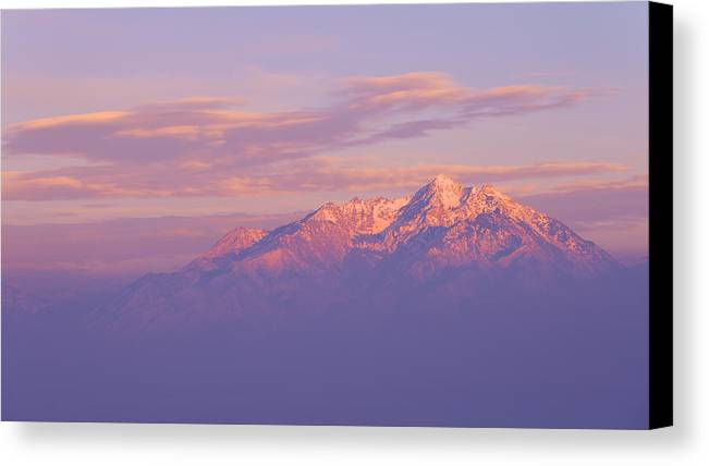 Mountain Canvas Print featuring the photograph Dreams by Chad Dutson