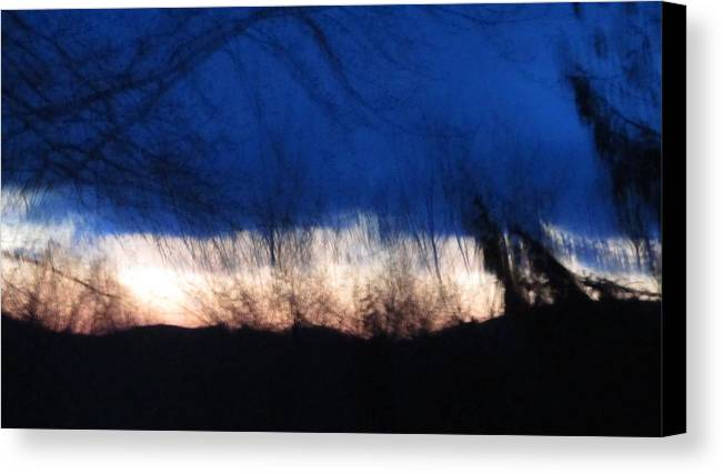 Morning Canvas Print featuring the painting Mornings Love by Robert Nacke
