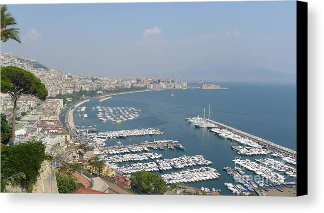 Napoli Canvas Print featuring the photograph Napoli by Nora Boghossian