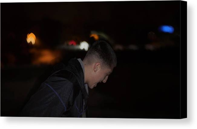 Night Canvas Print featuring the photograph Nighttime Adventure by Marc Storch